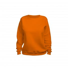 свитшот женский оранжевый