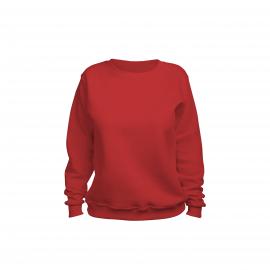 свитшот женский красный