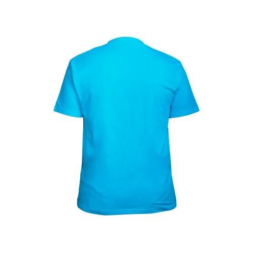 футболка мужская бирюзовая