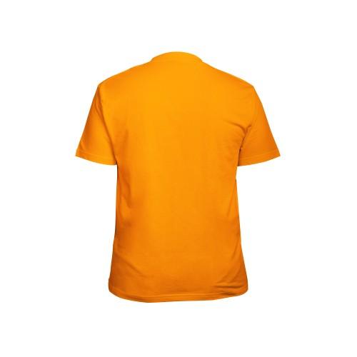 Футболка мужская оранжевая