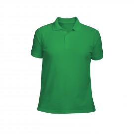 рубашка-поло мужская зеленая