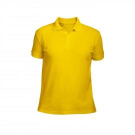 рубашка-поло мужская желтая