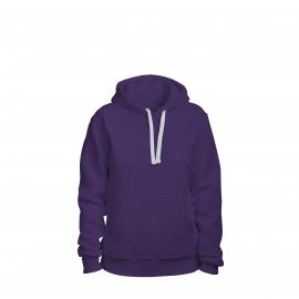 толстовка женская фиолетовая