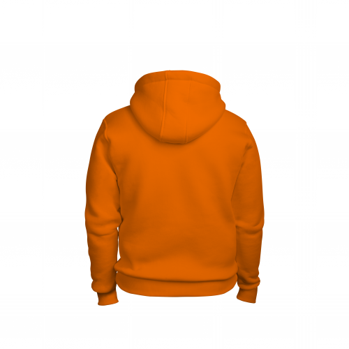 Толстовка мужская оранжевая