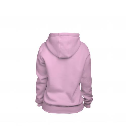 Толстовка женская розовая