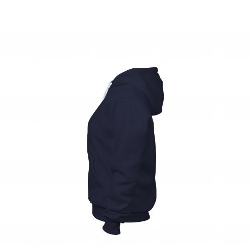 Толстовка женская темно-синяя