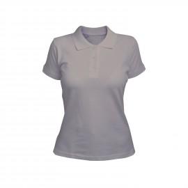 рубашка-поло женская серая