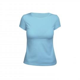 футболка женская бирюзовая