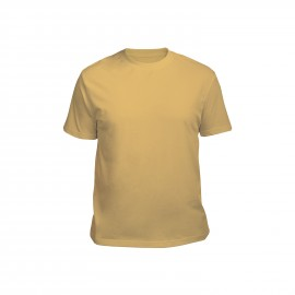 футболка мужская горчичная
