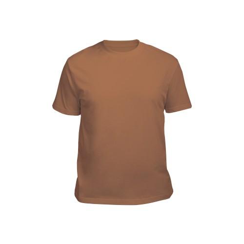 Футболка мужская светло-коричневая