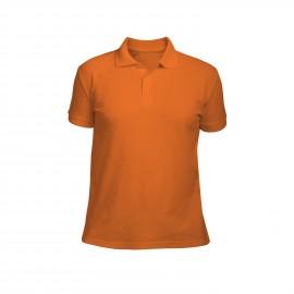 рубашка-поло мужская оранжевая