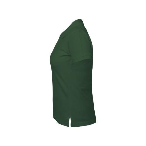 рубашка-поло женская темно-зеленая