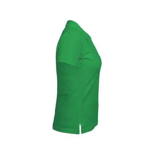 рубашка-поло женская зеленая