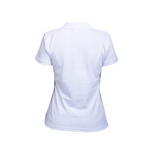 рубашка-поло женская белая