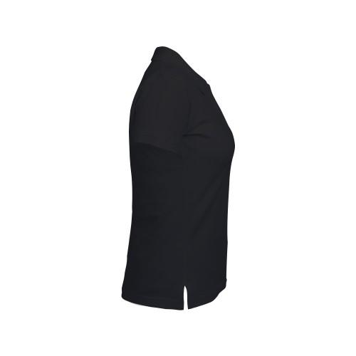 рубашка-поло женская черная