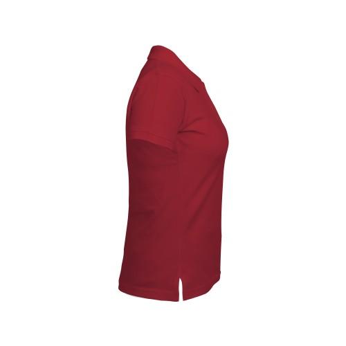 рубашка-поло женская бордо