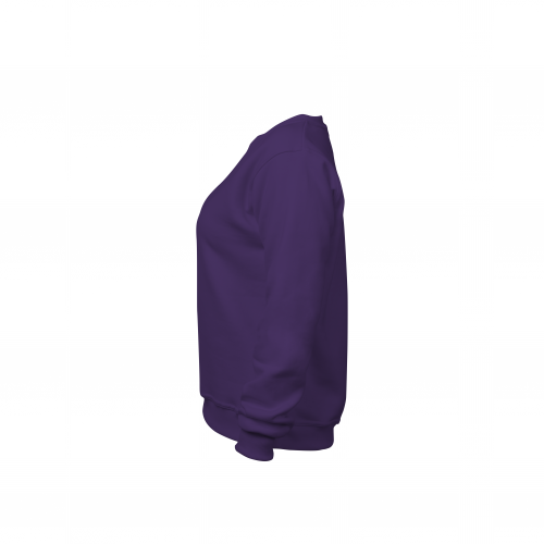 Свитшот женский фиолетовый