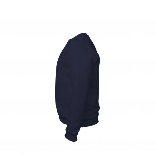 свитшот мужской темно-синий