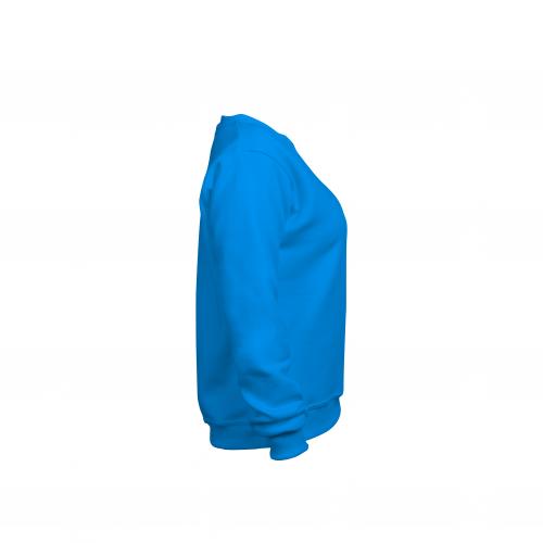 свитшот женский бирюзовый