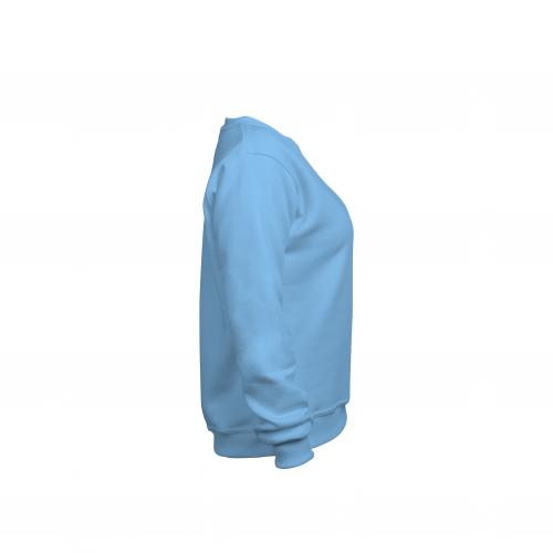 Свитшот женский голубой
