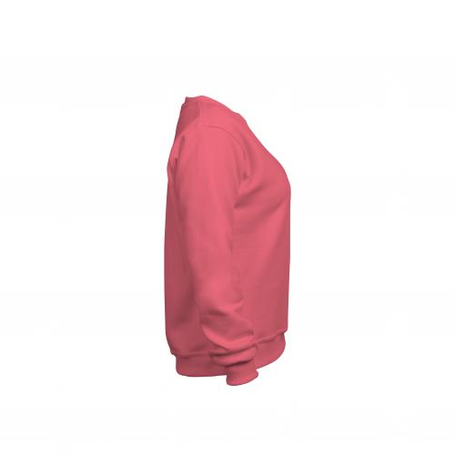 свитшот женский коралл