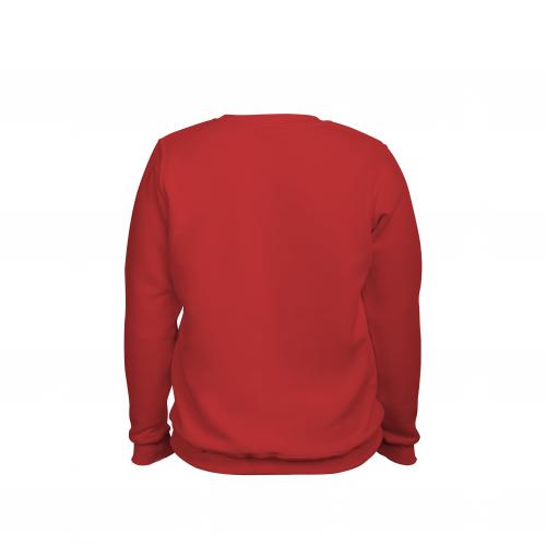 свитшот мужской красный
