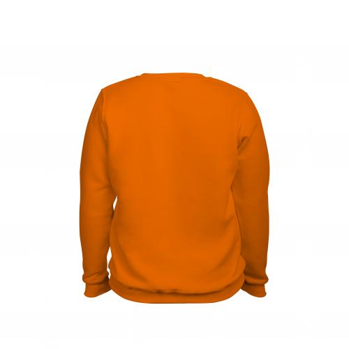 Свитшот мужской оранжевый