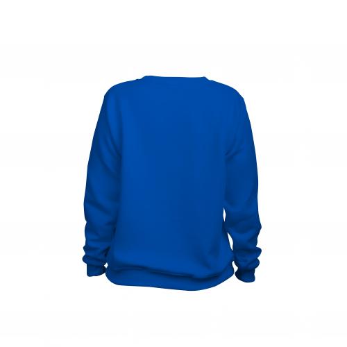 свитшот женский синий