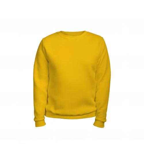 свитшот мужской желтый